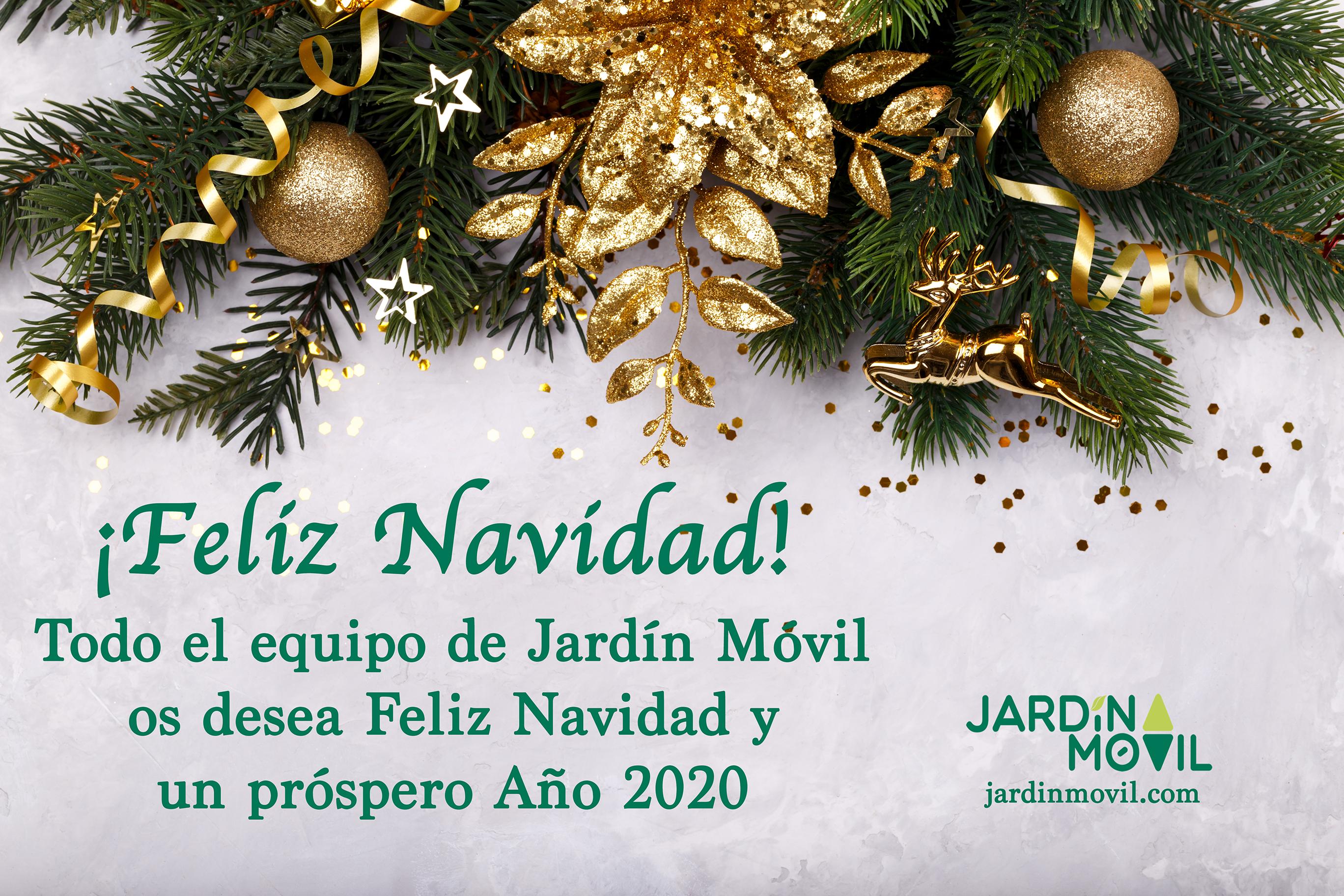 Jardín Móvil® les desea Feliz Navidad