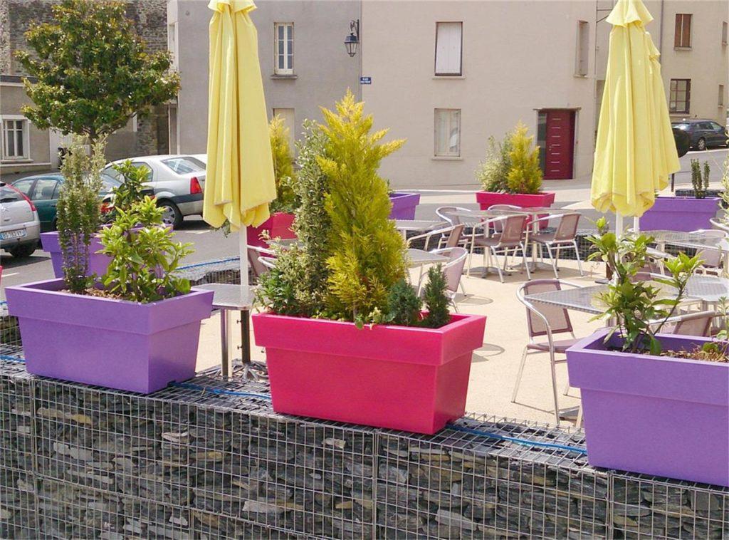 Las jardineras urbanas en los municipios